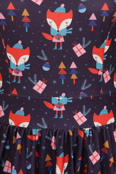 Little Miss Foxy Tea Dress
