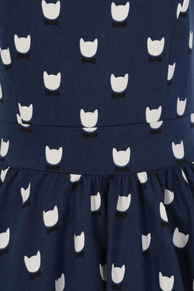 Cool cats tea dress