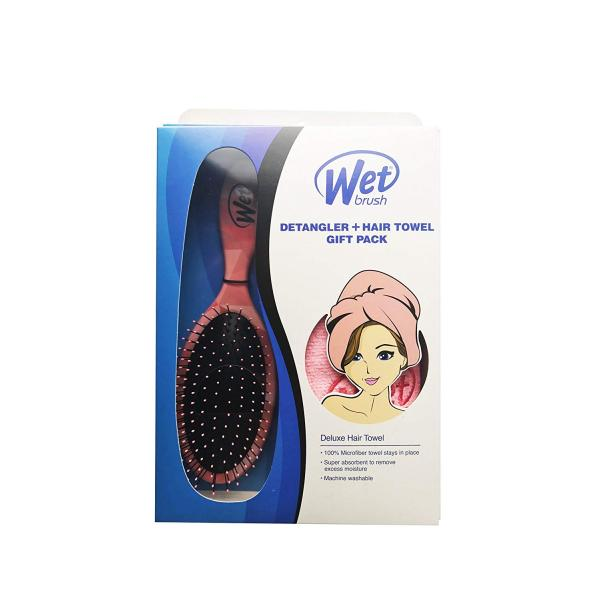 wet brush pro coral gift pack with towel