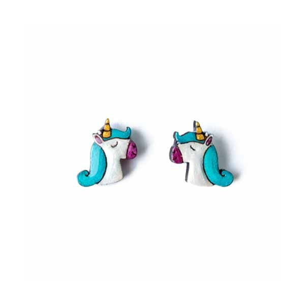 unicorn earrings Bok Bok B'Gerk