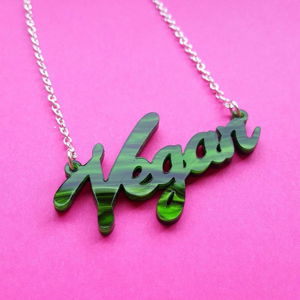 Sugar & Vice vegan necklace