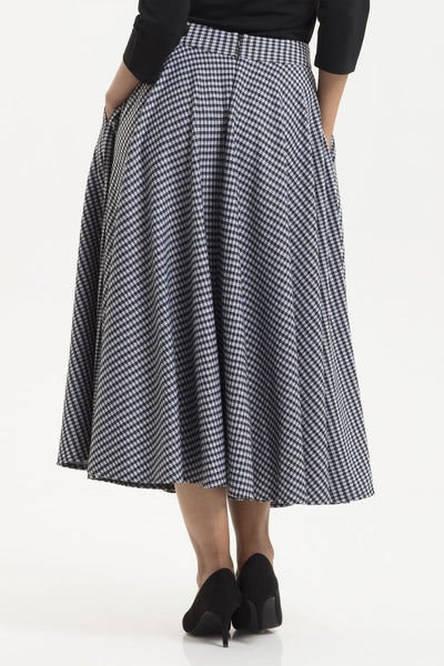 Ariana houndstooth skirt