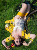 what katie did yellow mustard seamed stockings nz