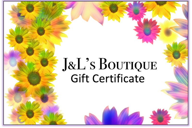J&L's Boutique Gift Certificate
