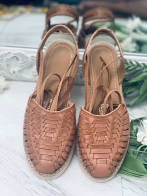 Toby  lace up ( Tan )