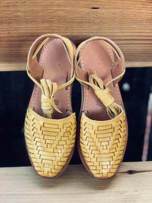 Lety lace up ( Mustard)