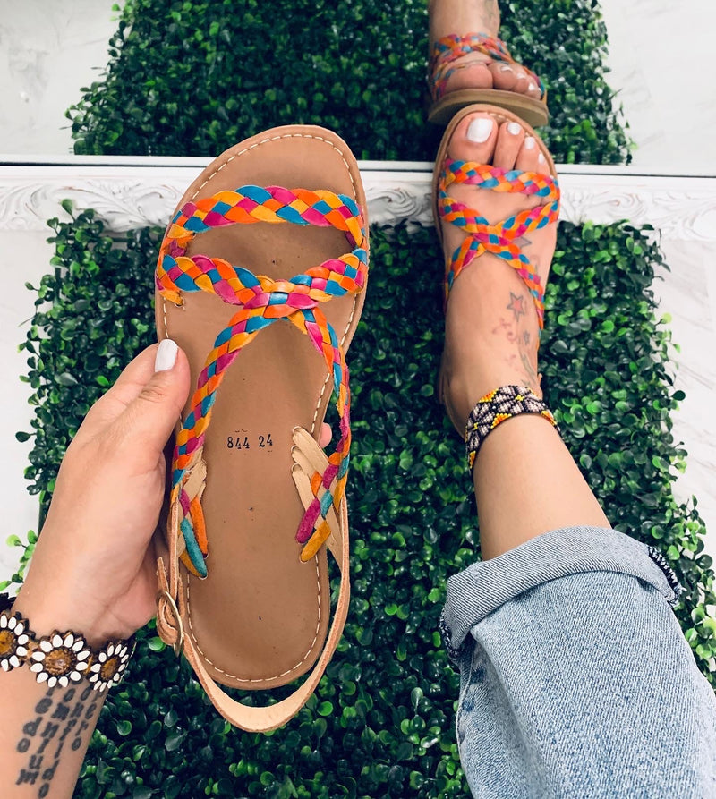 Playa sandals ( multi color )