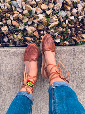 Maria Lace Up brown