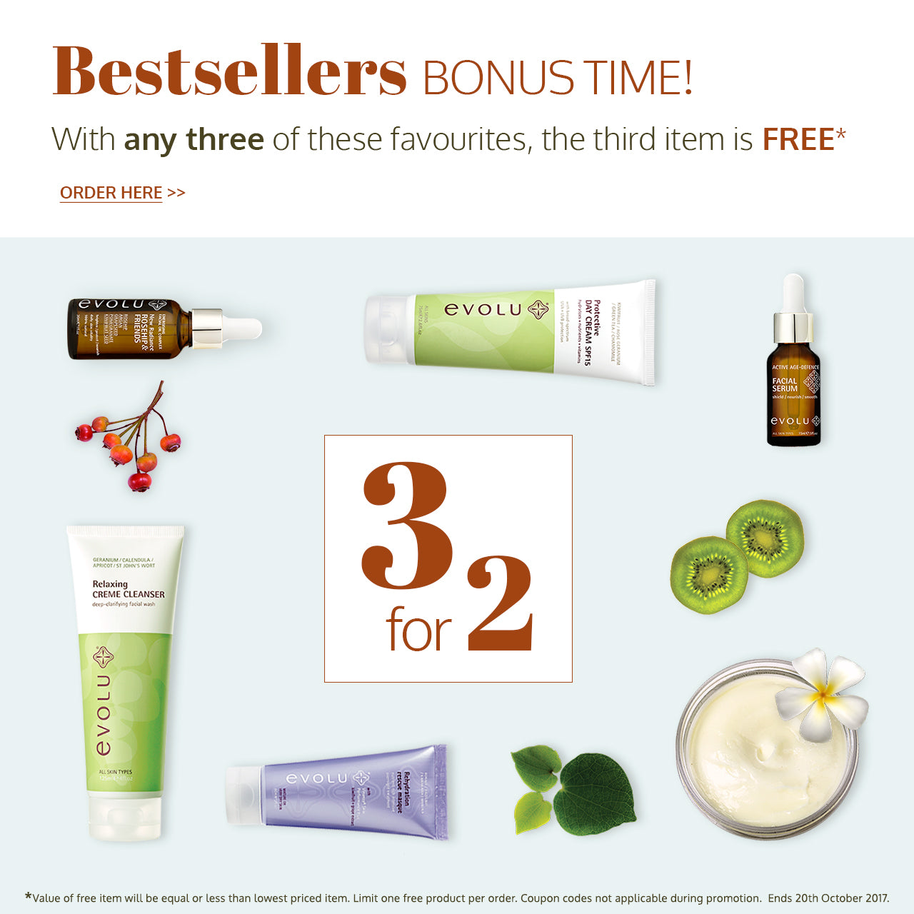 evolu-bestsellers-3for2-offer