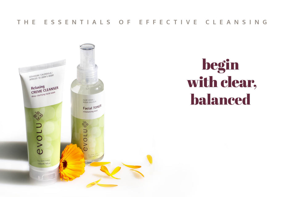 Creme Cleanser - begin with clear & balanced