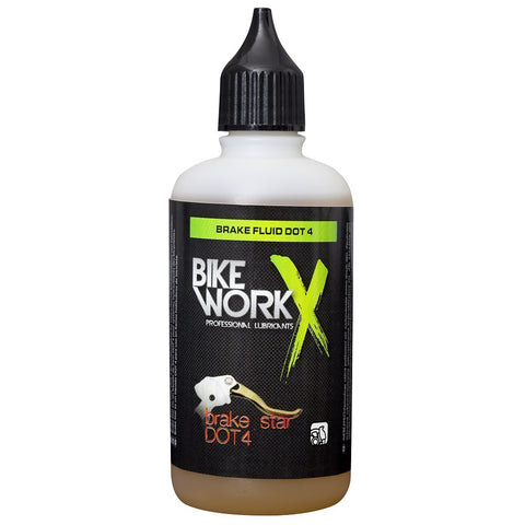 Bike WorkX Brake Star DOT 4 Brake Fluid - 100ML