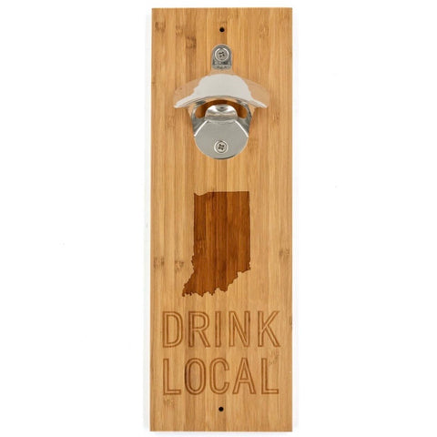Drink Local Indiana Bottle Opener