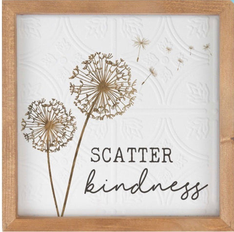 Scatter Kindness Textured Artwork