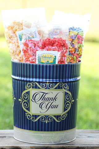 Popcorn Tin — 3.5 Gallon Tin