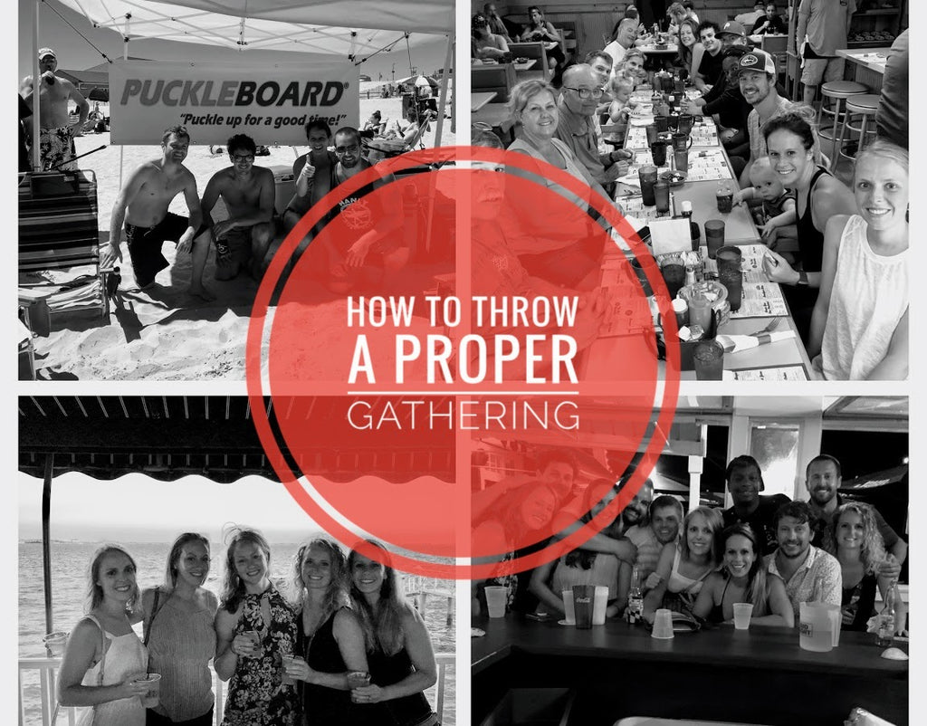 How to Throw a Proper Gathering