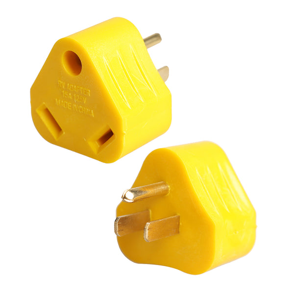TrekPower 15A Male to 30A Female Adapter-Yellow