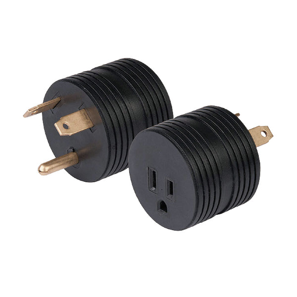 The round power adapter plug
