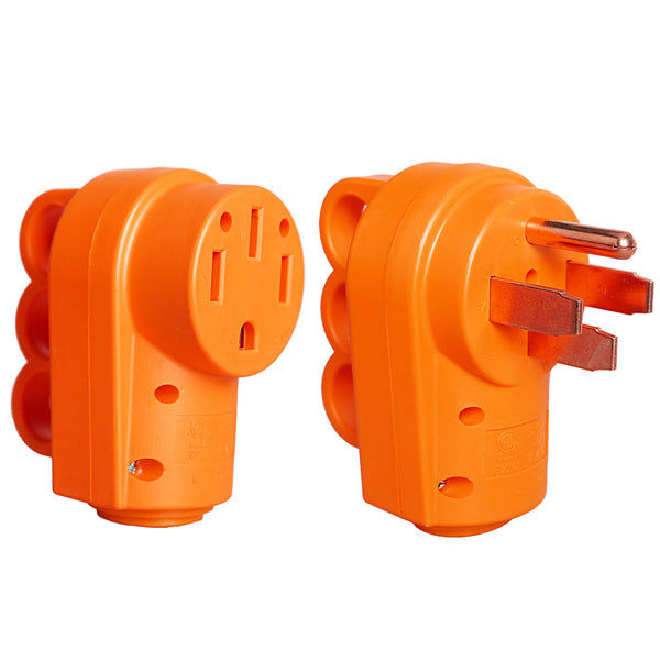 50 Amp RV Replacement Plug Male Plug and Female Plug