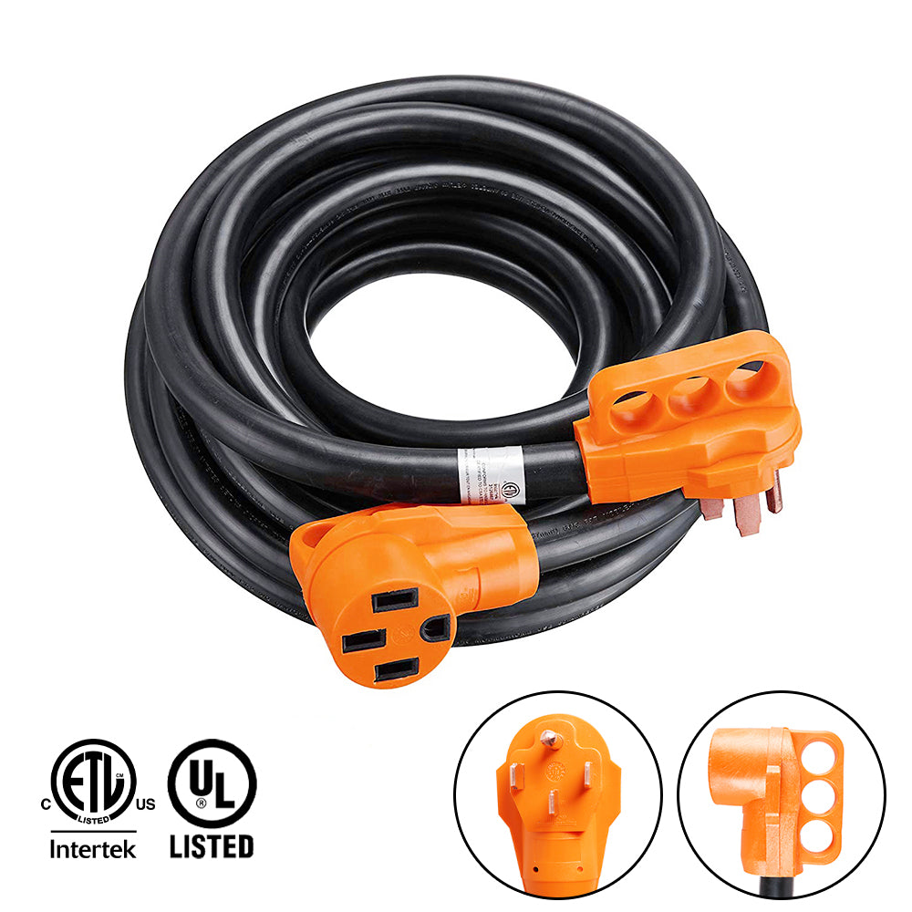 75 ft 50 amp rv extension cord