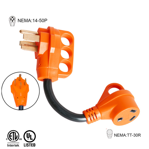 50 Amp to 30 Amp Adapter