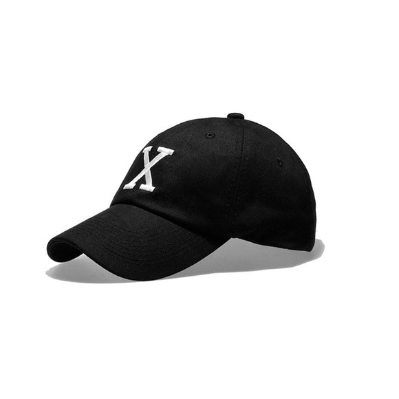Marked | Men's Black Fashion Embroidered Baseball Hat