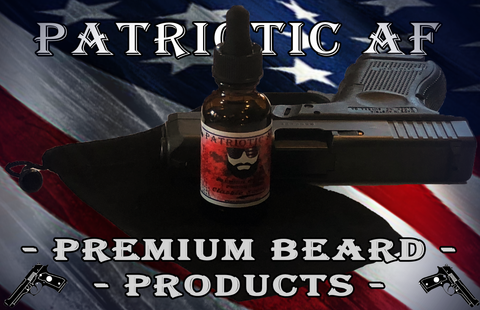 Patriotic AF Premium Beard Products