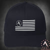 Alpha United Logo Flag Flexfit Cap