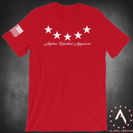 Alpha United Stars Unisex T-Shirt