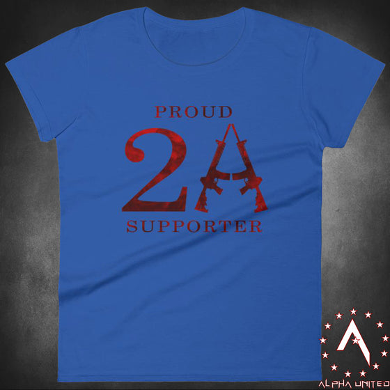 Proud 2A Supporter Women's T-Shirt