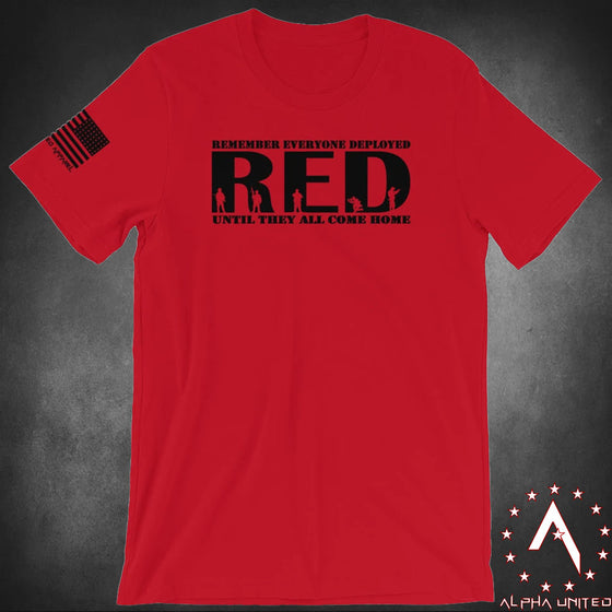 RED (Remember Everyone Deployed) Unisex T-Shirt