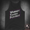 Whiskey Tank Foxtrot Men's Tank Top
