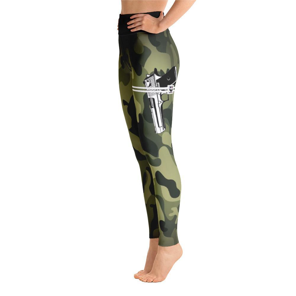 Patriotic AF Leggings XS Patriotic AF Camo 1911 Holster Leggings Yoga Leggings