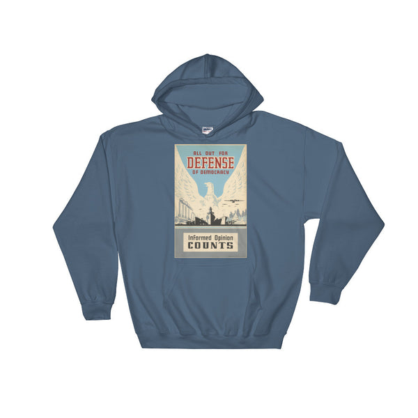 All Out For Defense Hooded Sweatshirt