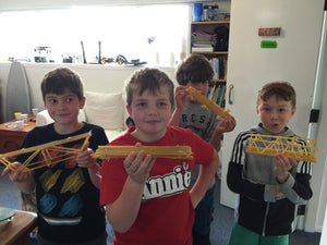 2018 - Term Four - Week One - Spaghetti Bridges
