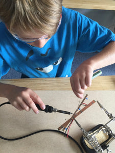 2018 Term One - Week Seven - Soldering!