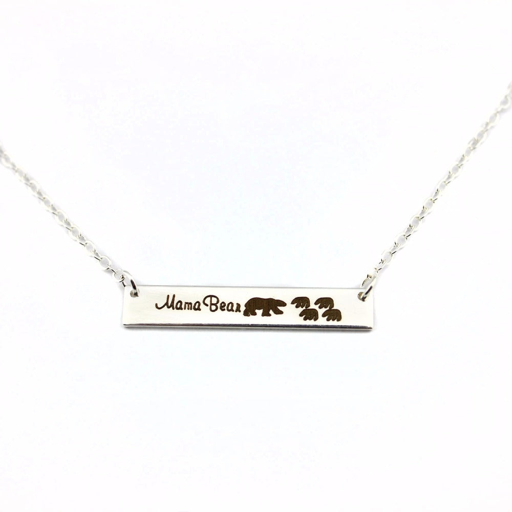 mom necklace mama day mommy bear me mother s set and jewelry product