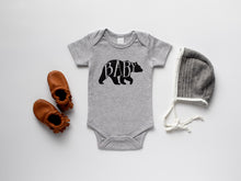 Load image into Gallery viewer, Baby Bear Organic Bodysuit