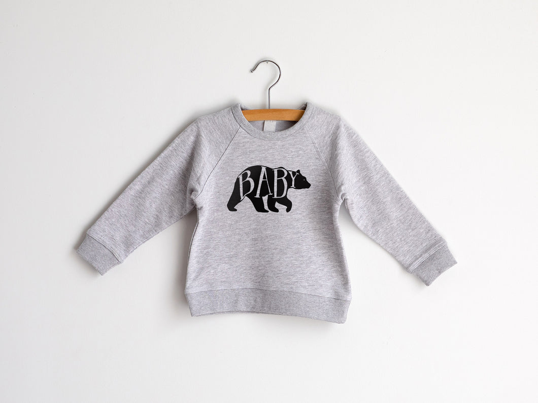 Baby Bear Organic Kids Pullover