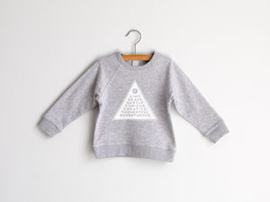 Badge Of Honor Organic Kids Pullover