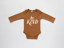 Load image into Gallery viewer, Be Kind Organic Baby Bodysuit