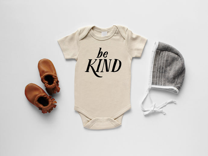 Be Kind Organic Baby Bodysuit
