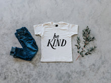 Load image into Gallery viewer, Be Kind Organic Baby & Kids Tee