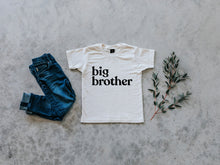 Load image into Gallery viewer, Big Brother Organic Baby & Kids Tee