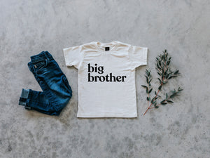 Big Brother Organic Baby & Kids Tee