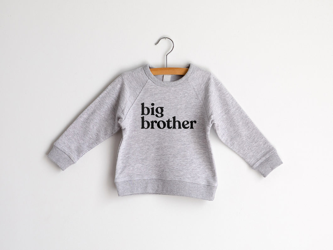 Big Brother Organic Kids Pullover