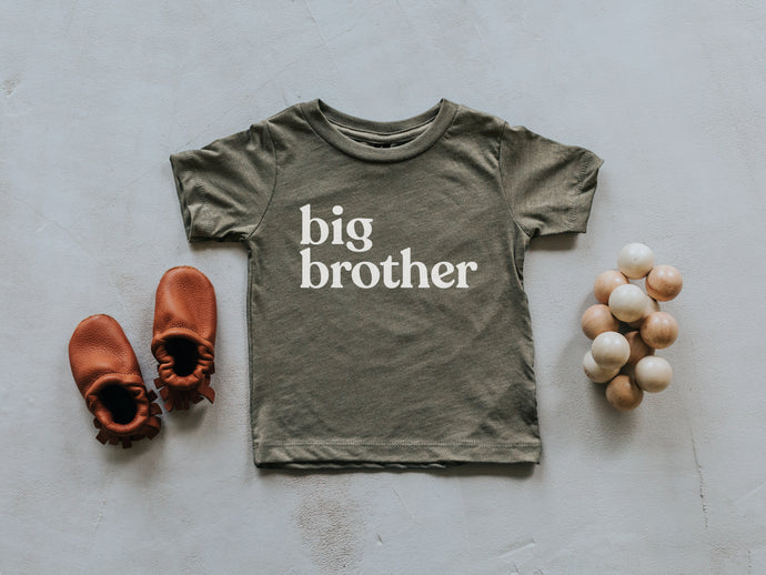 Big Brother Baby and Kids Tee