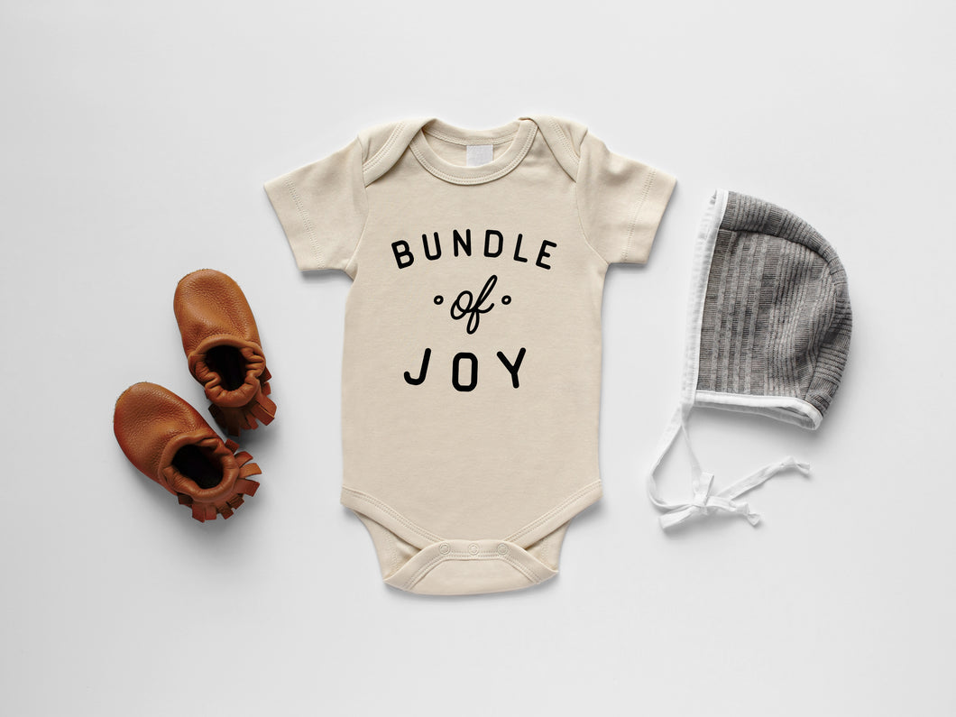 Bundle Of Joy Organic Baby Bodysuit