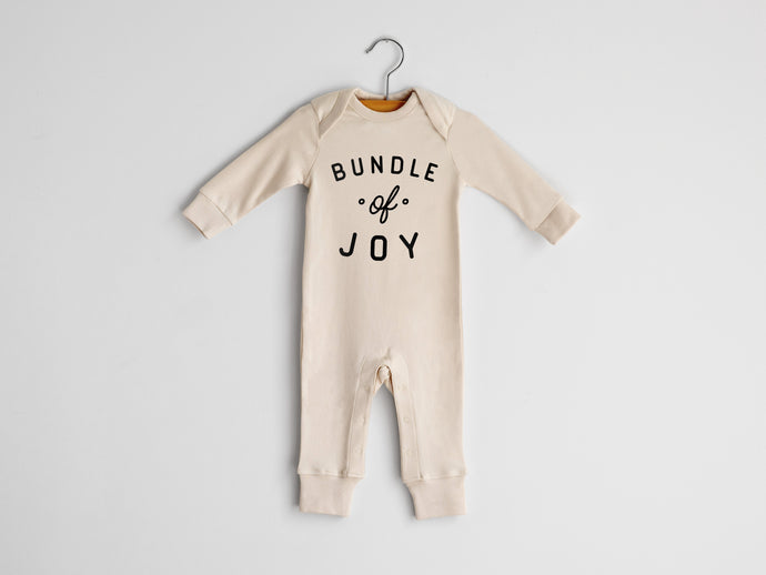 Bundle Of Joy Full Body Organic Baby Romper