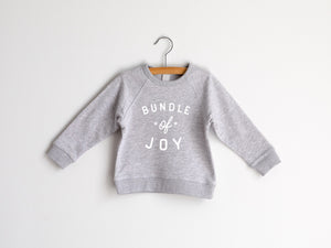 Bundle Of Joy Organic Kids Pullover