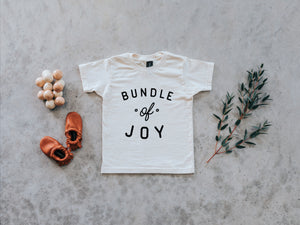 Bundle Of Joy Organic Baby Tee